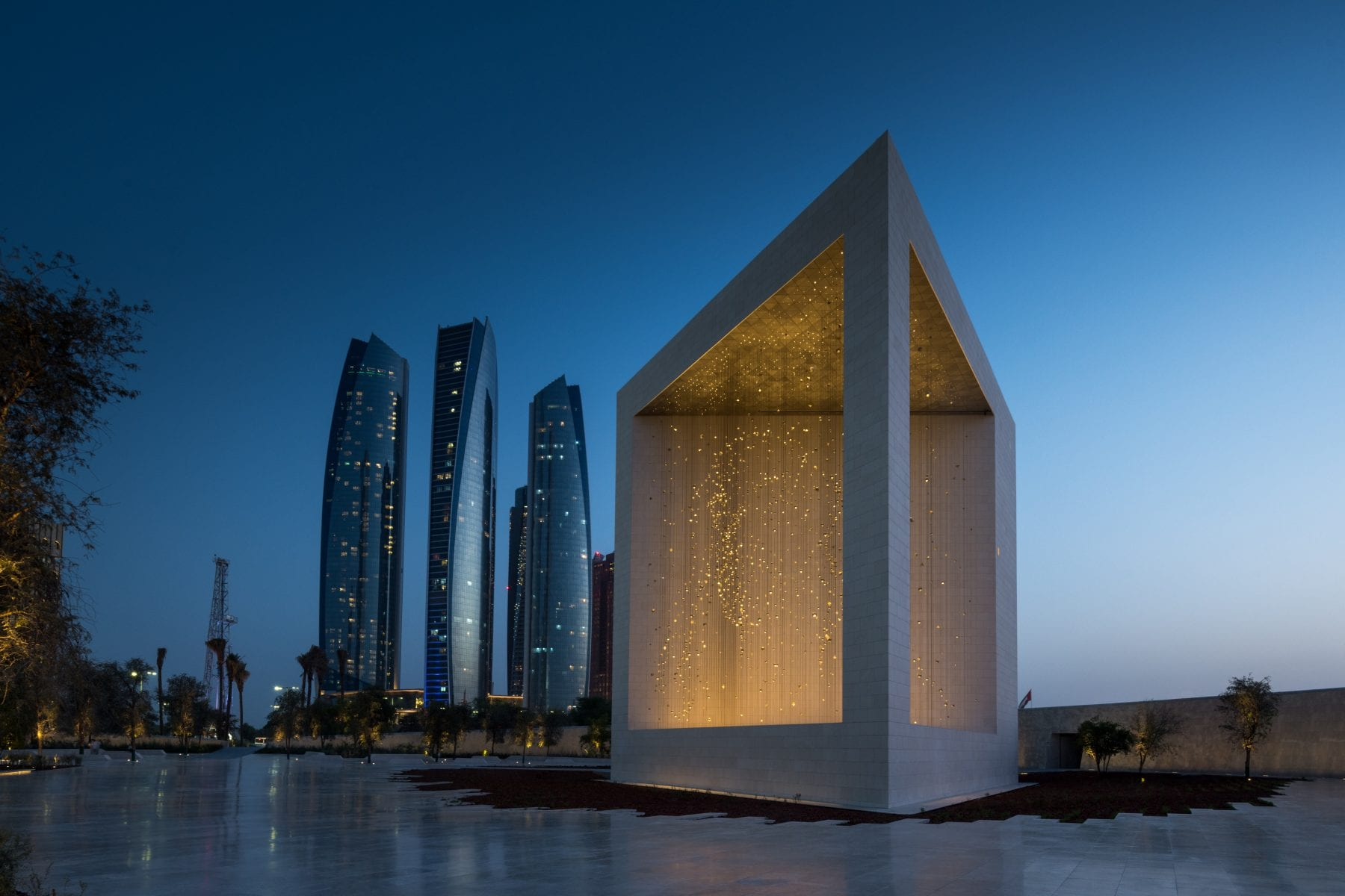 The Constellation at the Founder's Memorial, Abu Dhabi