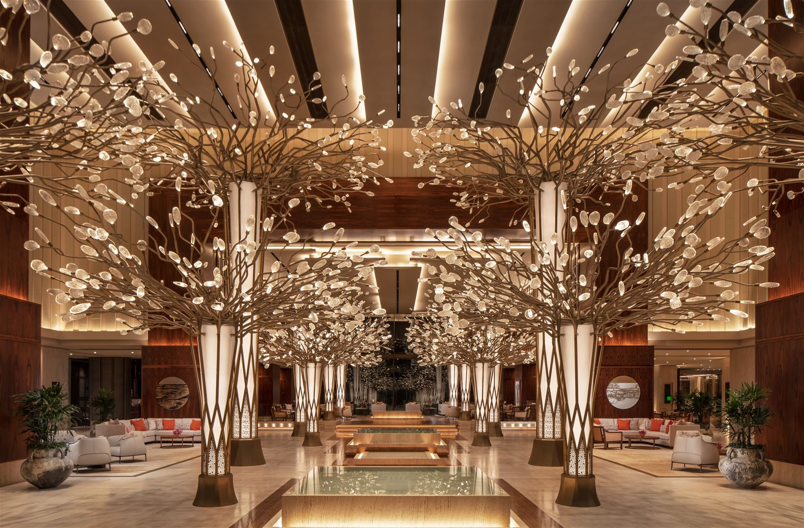 Canopy of Light at Mandarin Oriental Jumeira, Dubai